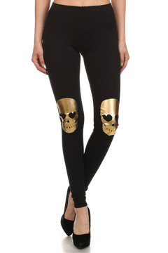 Ghost Rider Cotton Leggings