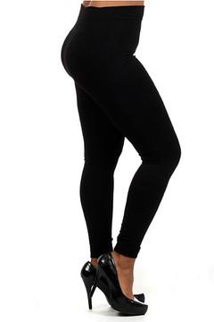 Thick Fleece Lined Plus Size Leggings