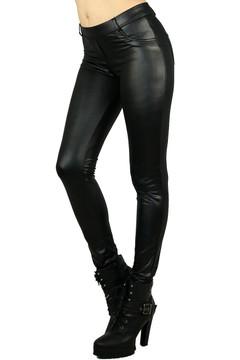Matte Liquid Jean Style Leggings