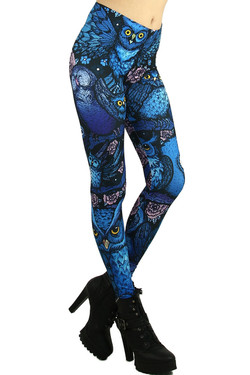 Blue Owl Leggings