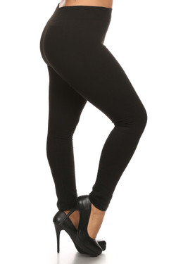 French Terry Leggings - Plus Size