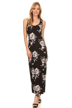 Night Bloom Floral Maxi Dress