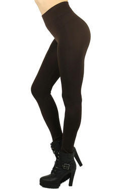 Basic Spandex Full Length Plus Size Leggings