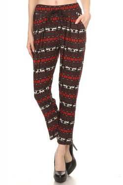 Reindeer Harem Leggings