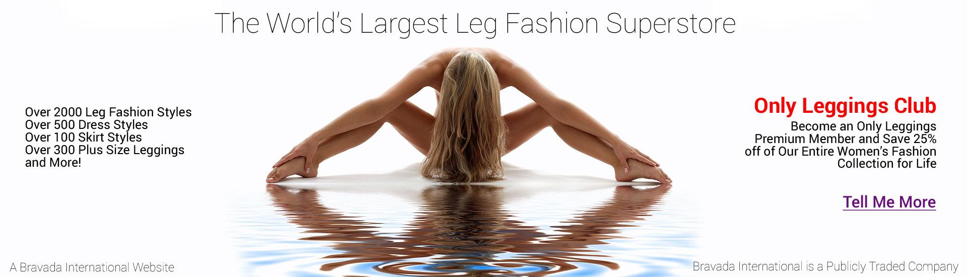 Only Leggings Premium Memberships