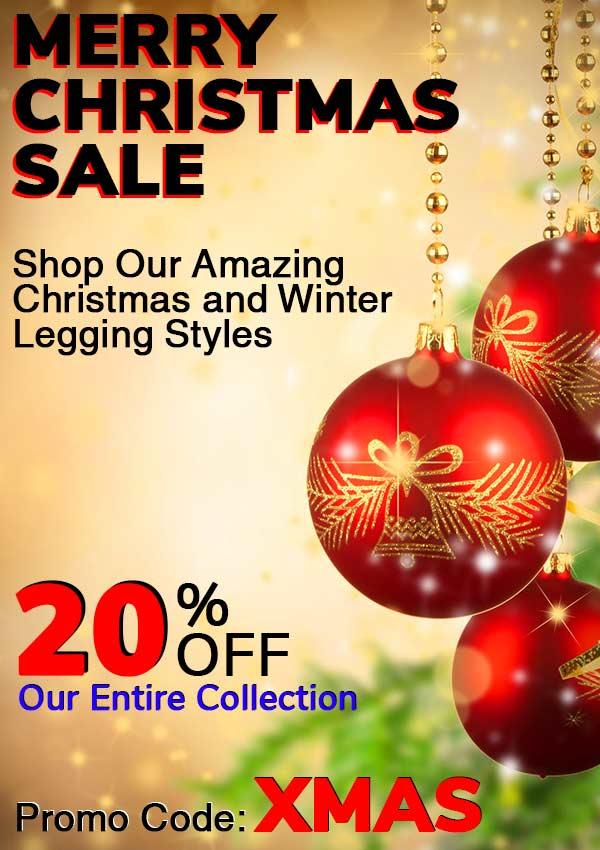Merry Christmas Leggings Sale