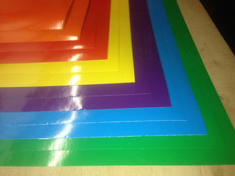 Lighten Up Your Day Color Pack - Oracal 651 Adhesive Vinyl (12 Sheets)