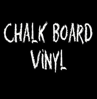 Chalkboard vinyl for craft cutters