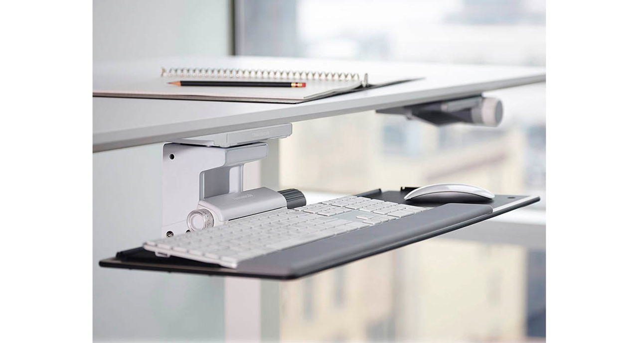 Exceptional Compact 6F Mechanism Takes The Height Adjustment Out Of The Keyboard Tray  Mechanism And Instead Lets