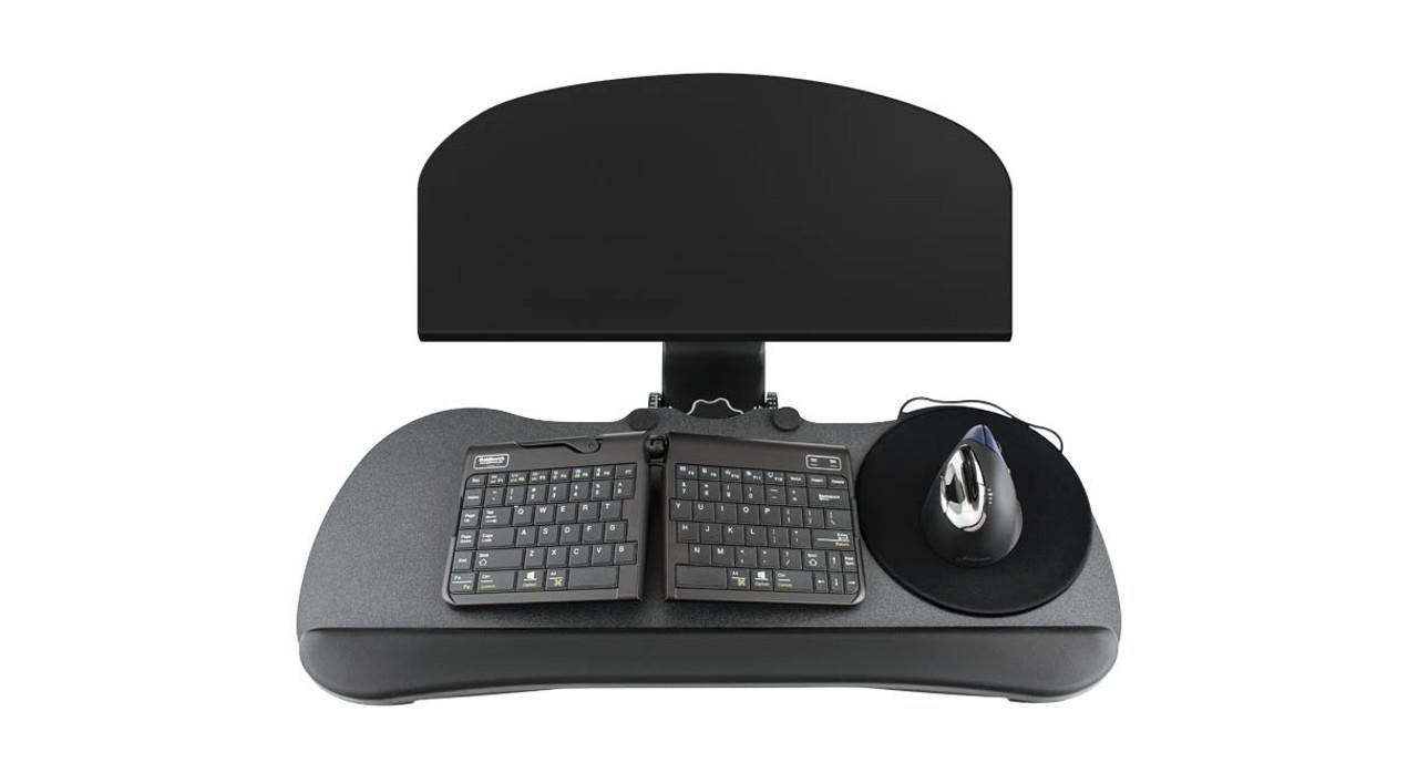 uplift keyboard tray kit for corner lshaped desk