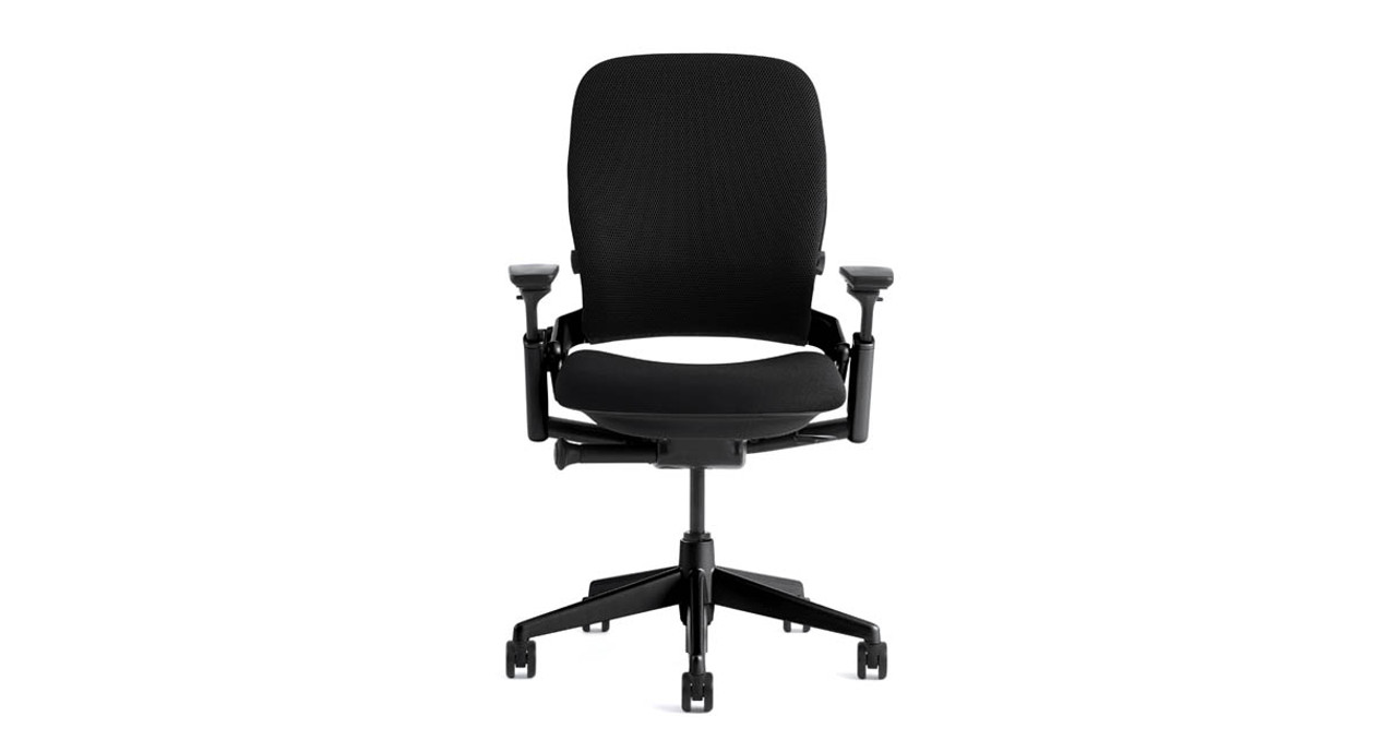 The Steelcase Leap Ergonomic Office Chair Offers Strong Lumbar Support To  Ensure Your Lower Back Doesn