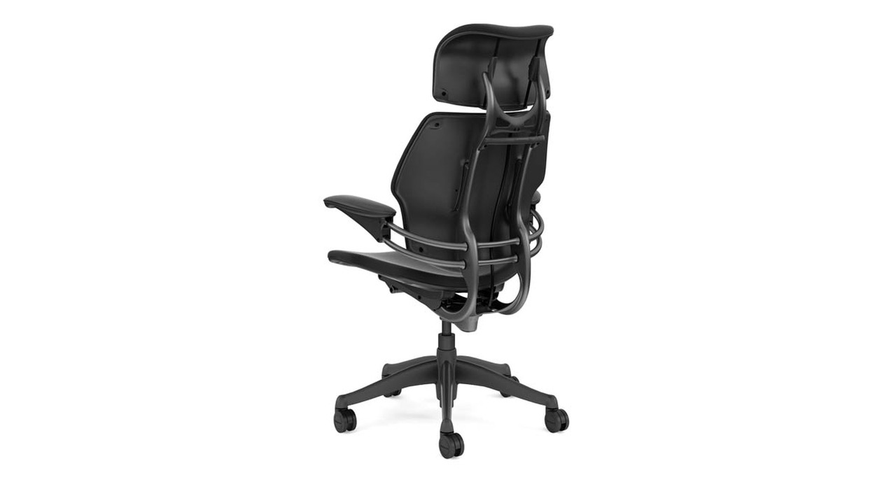 Humanscale chair assembly - Extra Motion Provided By The Backrest During Recline Automatically Adjusts To The Needs Of Your Spine