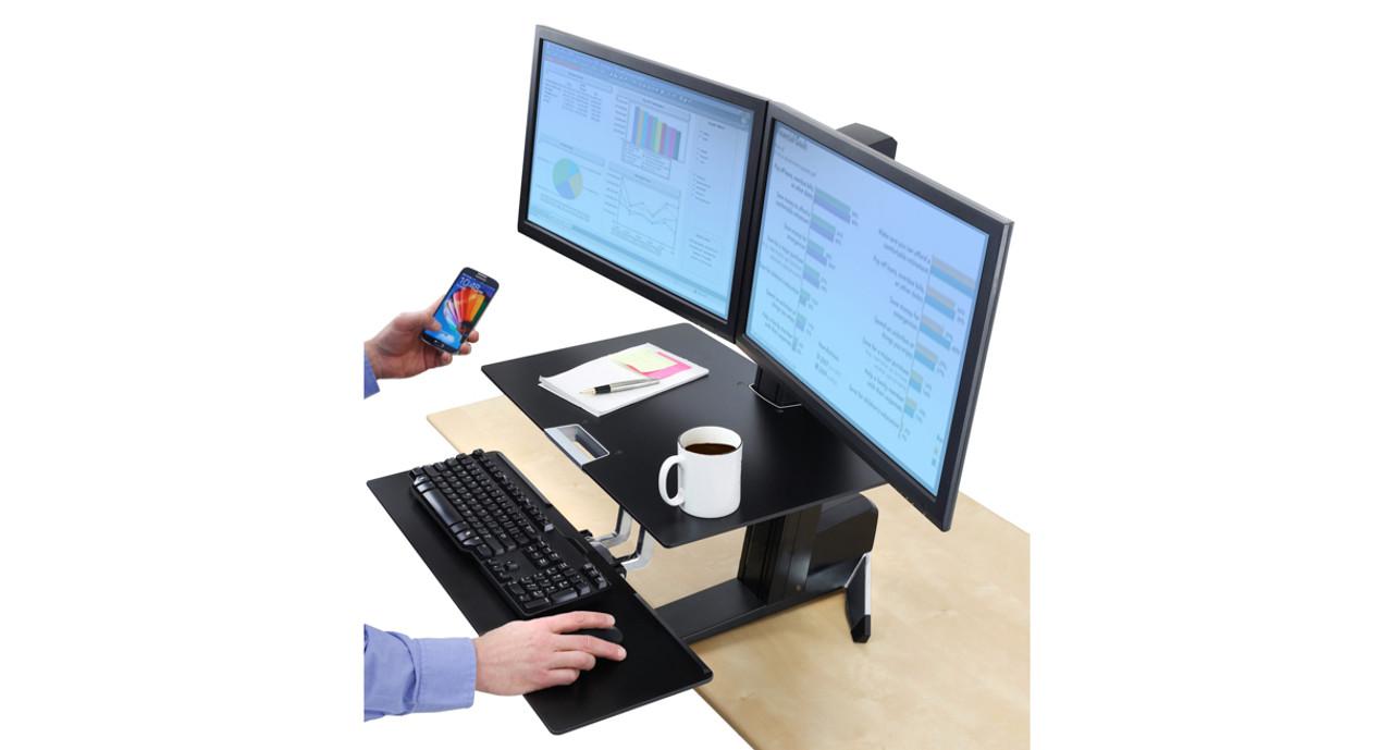 Shop Ergotron WorkFitS SitStand Workstation