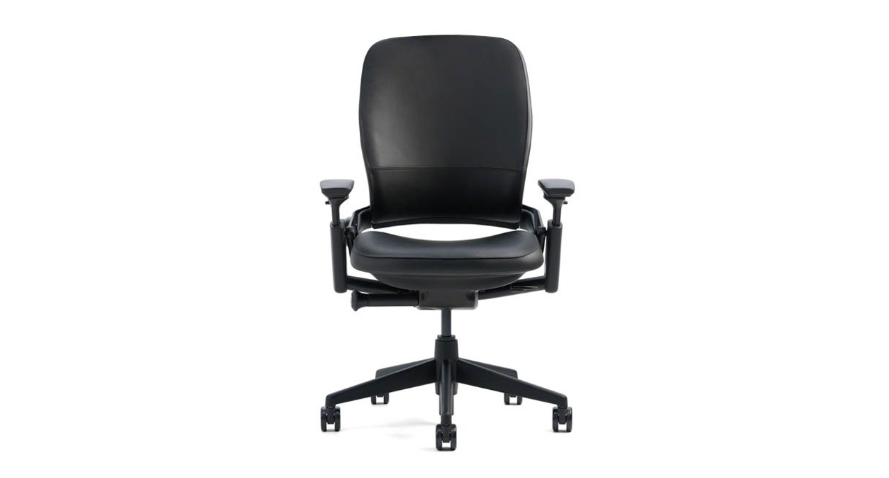 Charming Steelcase Leap Chair In Leather