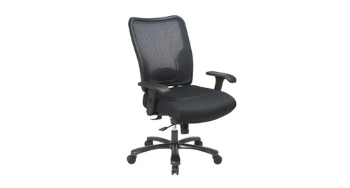 Space Chair Big And Tall Mesh Back Ergonomic Chair (75 37A773)