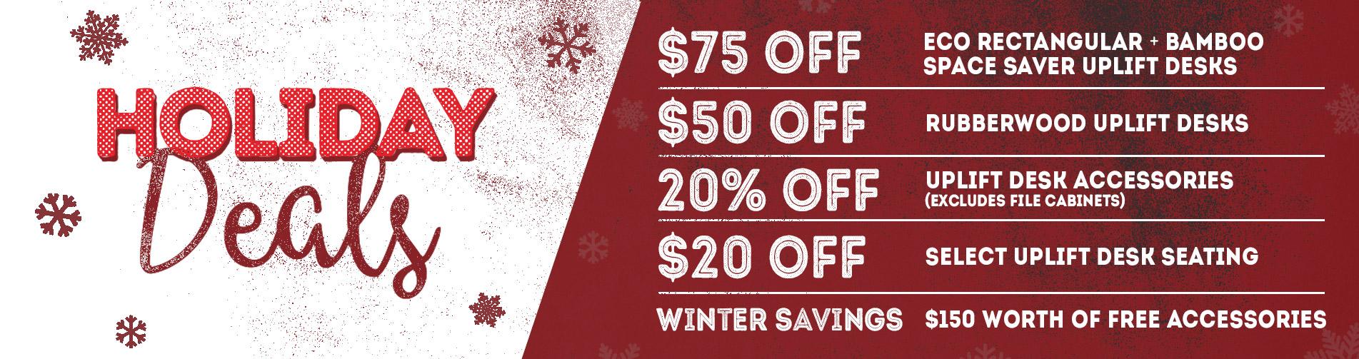 UPLIFT Desk Holiday Deals