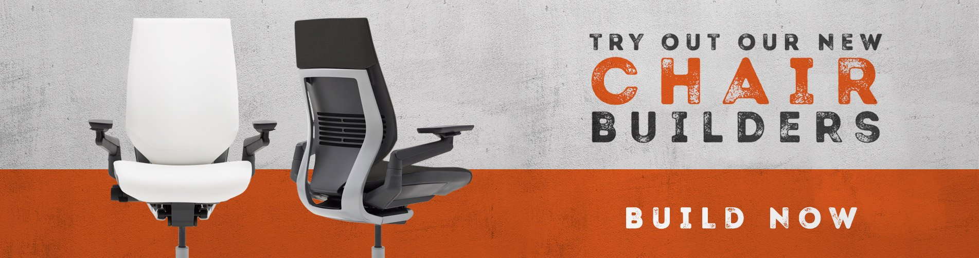 Try Our New Ergonomic Chair Builders