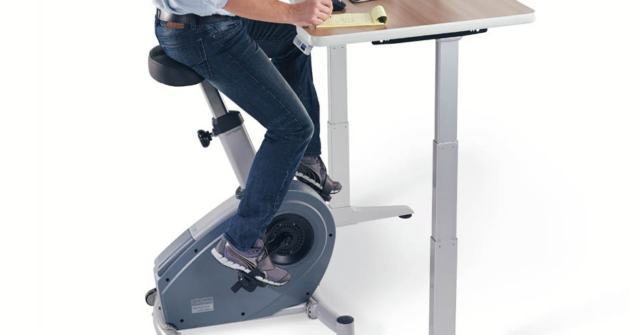 Ergonomic Desk Review The Benefits of the UPLIFT Bike Desk