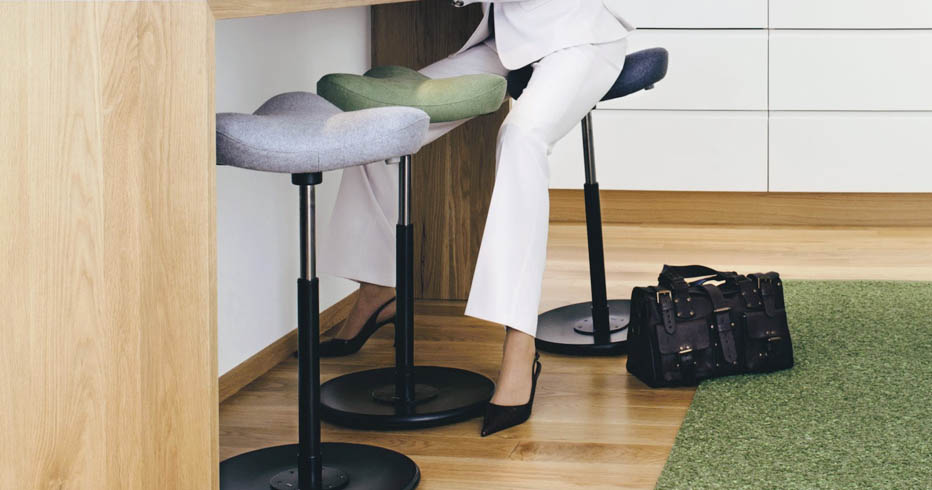 The Varier Move Stool A Dynamic Solution For A Standing