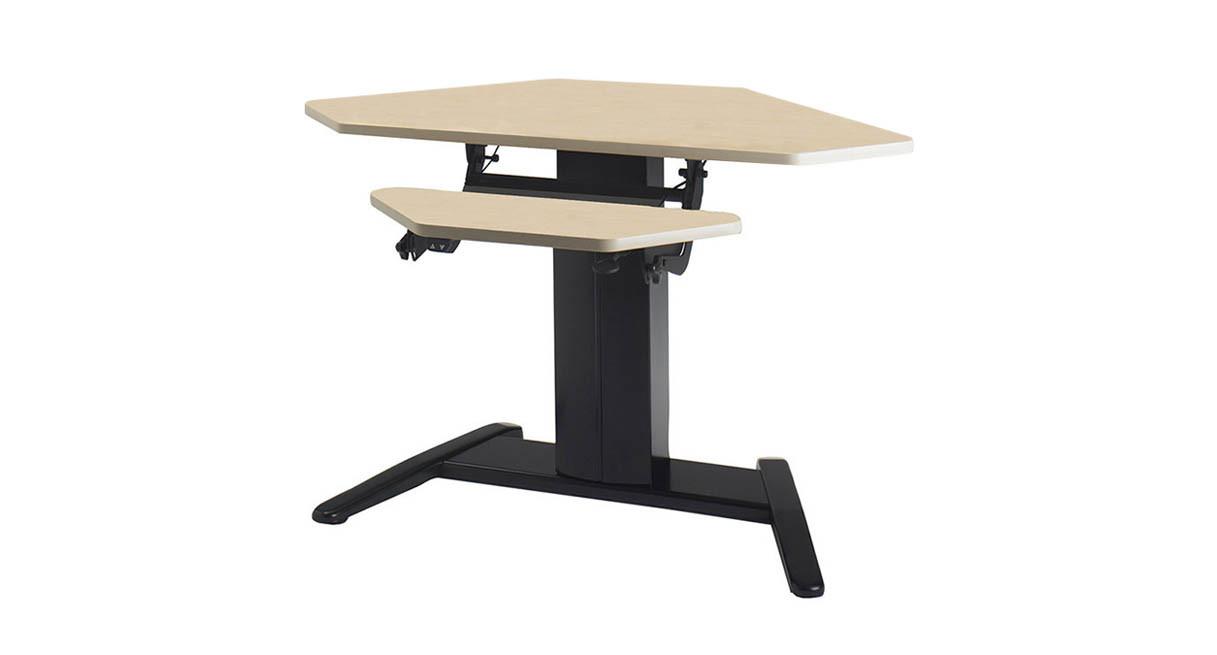 LShaped and Corner Standing Desks Shop Human Solution