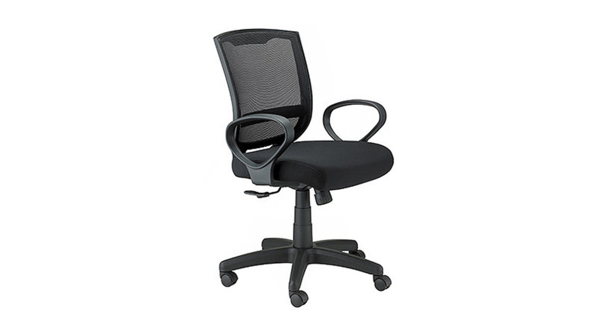 The Raynor Maze Chair's contemporary look makes it a perfect fit for home or office.