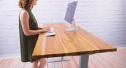 Reclaimed Wood Teak Desk