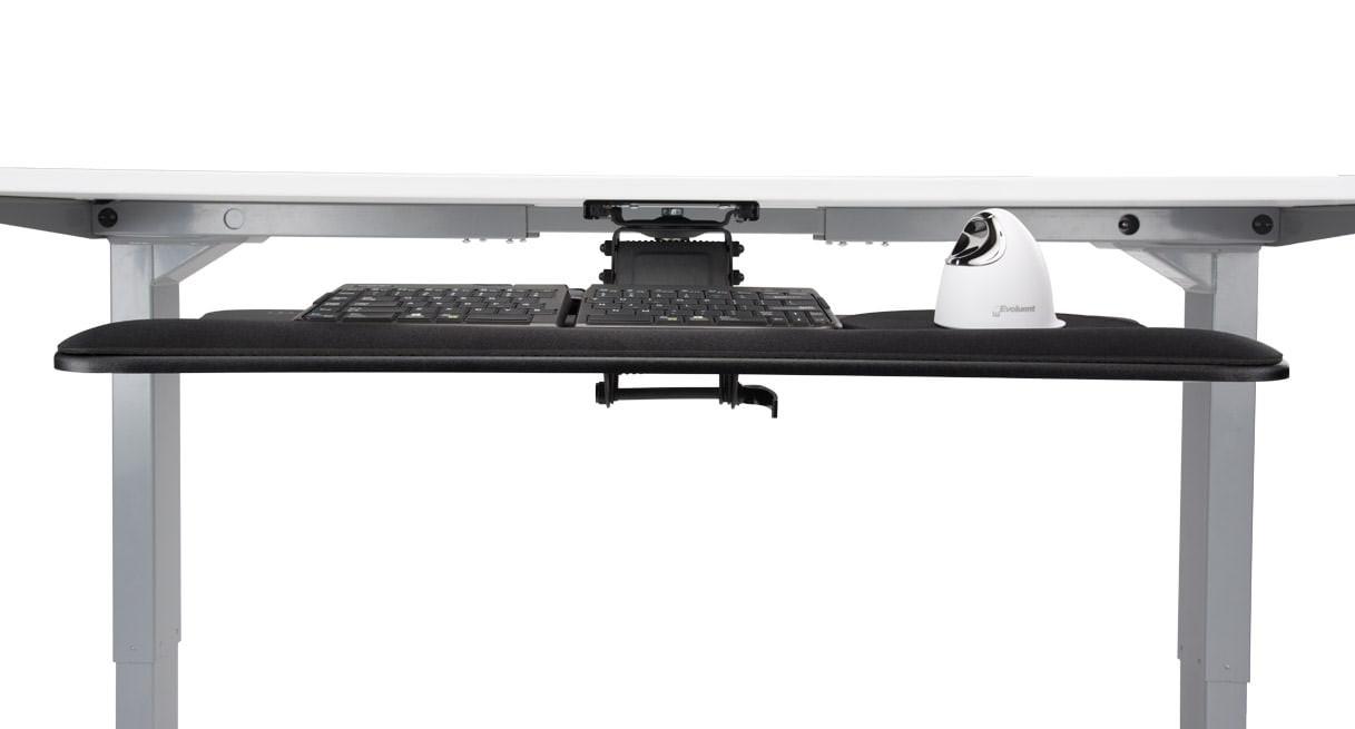 Sleek Desk E3 Keyboard Trayuplift Desk  Shop Keyboard Platforms