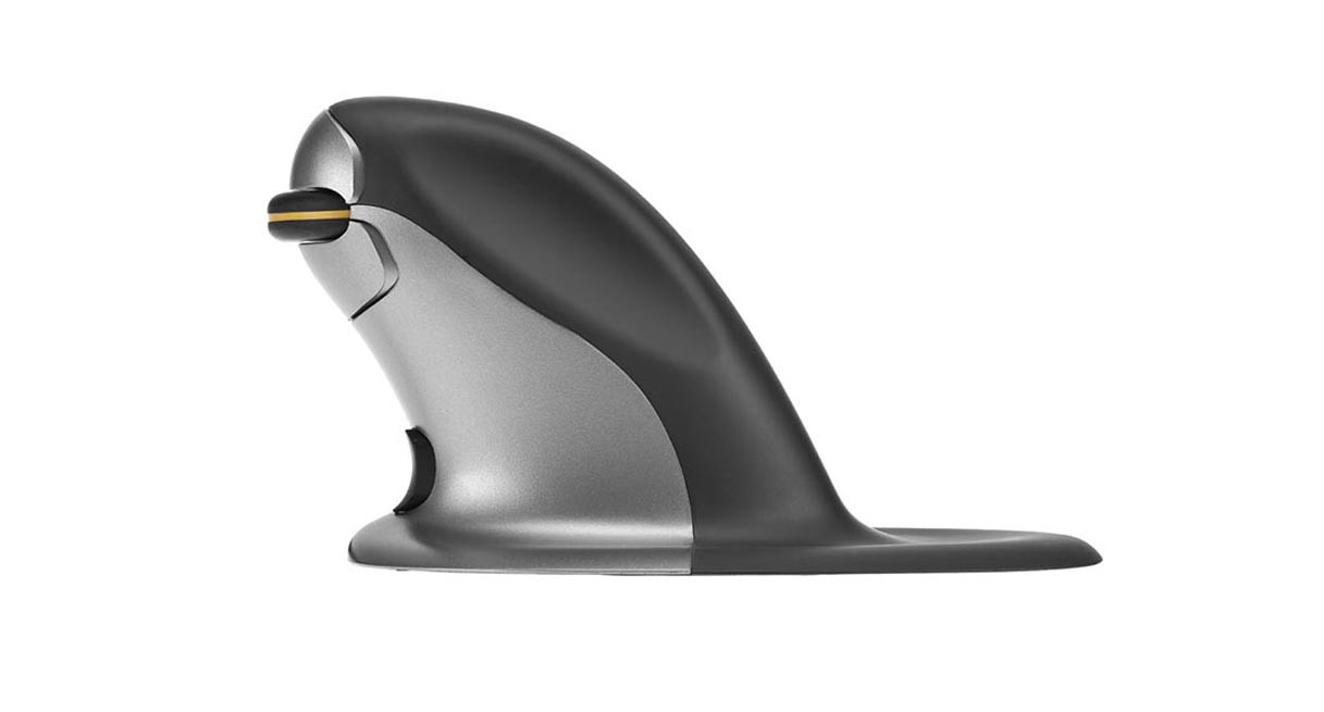 Shop Posturite Penguin Vertical Mouse Wireless Medium