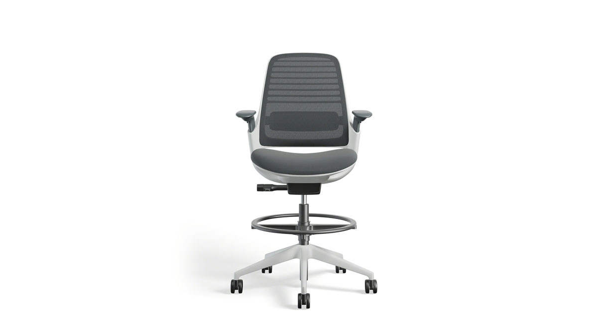 Work better with the Series 1 Drafting Stool