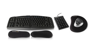 The entire Goldtouch ErgoSuite bundle works together for optimal ergonomics
