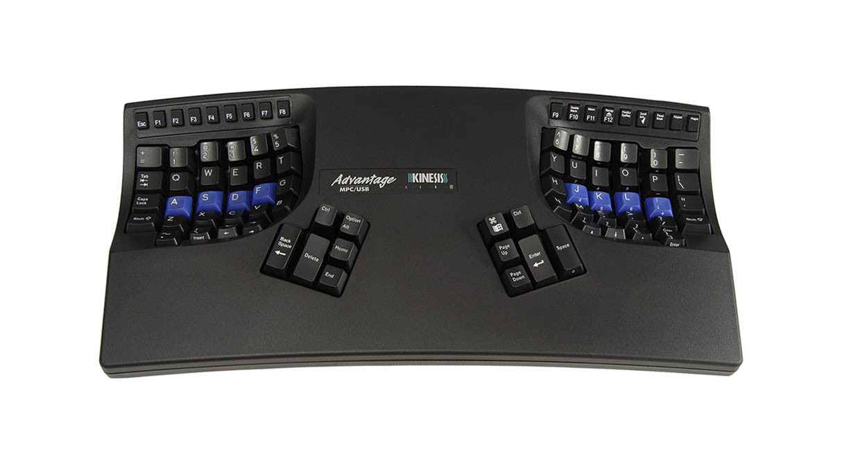 Shop Kinesis Advantage2 Contoured Usb Keyboards Pc And Mac