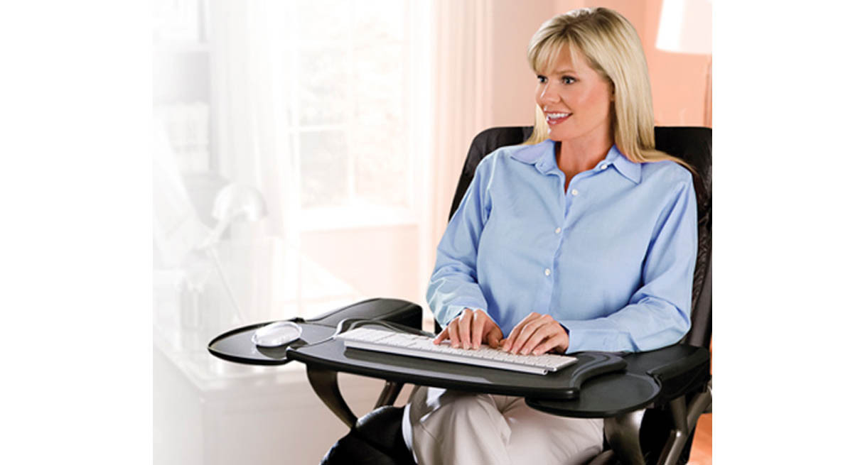 Mobo Chair Mounted Keyboard Tray Ergonomic Workstation