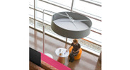 Durable steel frame and polyester fabric shade made to last