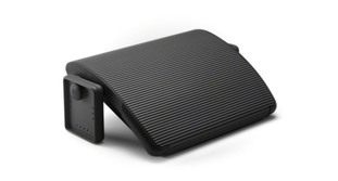 The Steelcase Worktools Foot Rest encourages good posture and promotes circulation