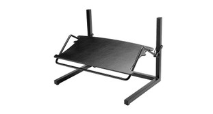 Adjustable height and angle on the Workrite Height & Angle Foot Rest 215