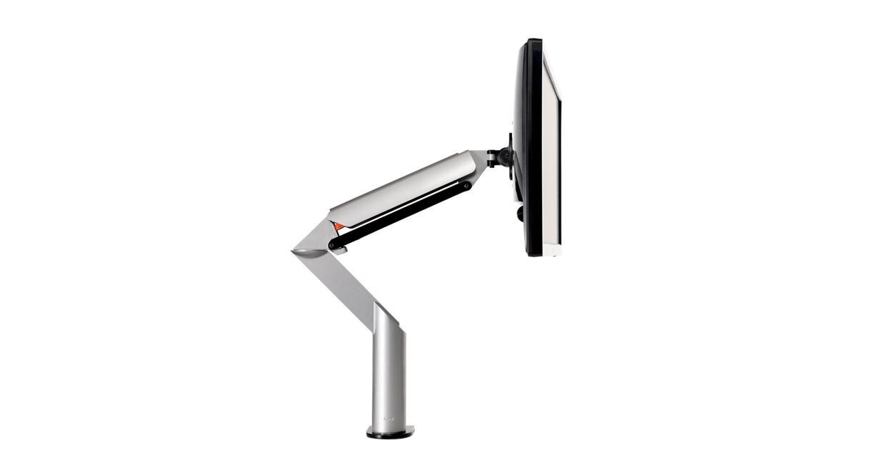The Knoll Sapper XYZ Monitor Arm boasts a sleek design