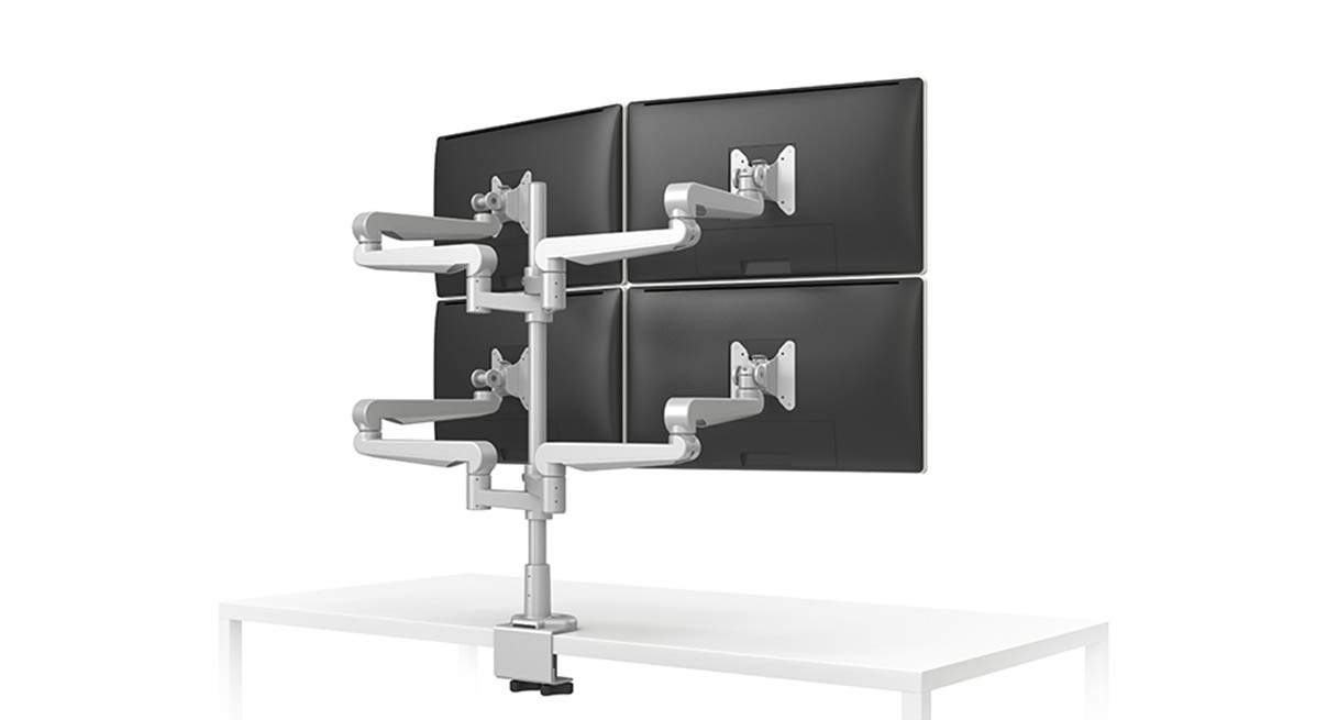 Esi Ergonomics Evolve4 Ff Monitor Arm Human Solution