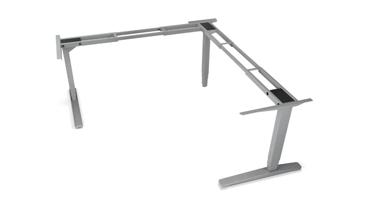 """With the UPLIFT 950 3-Leg Height-Adjustable Standing Desk Base, you'll get 26"""" of electric height adjustments in seconds"""