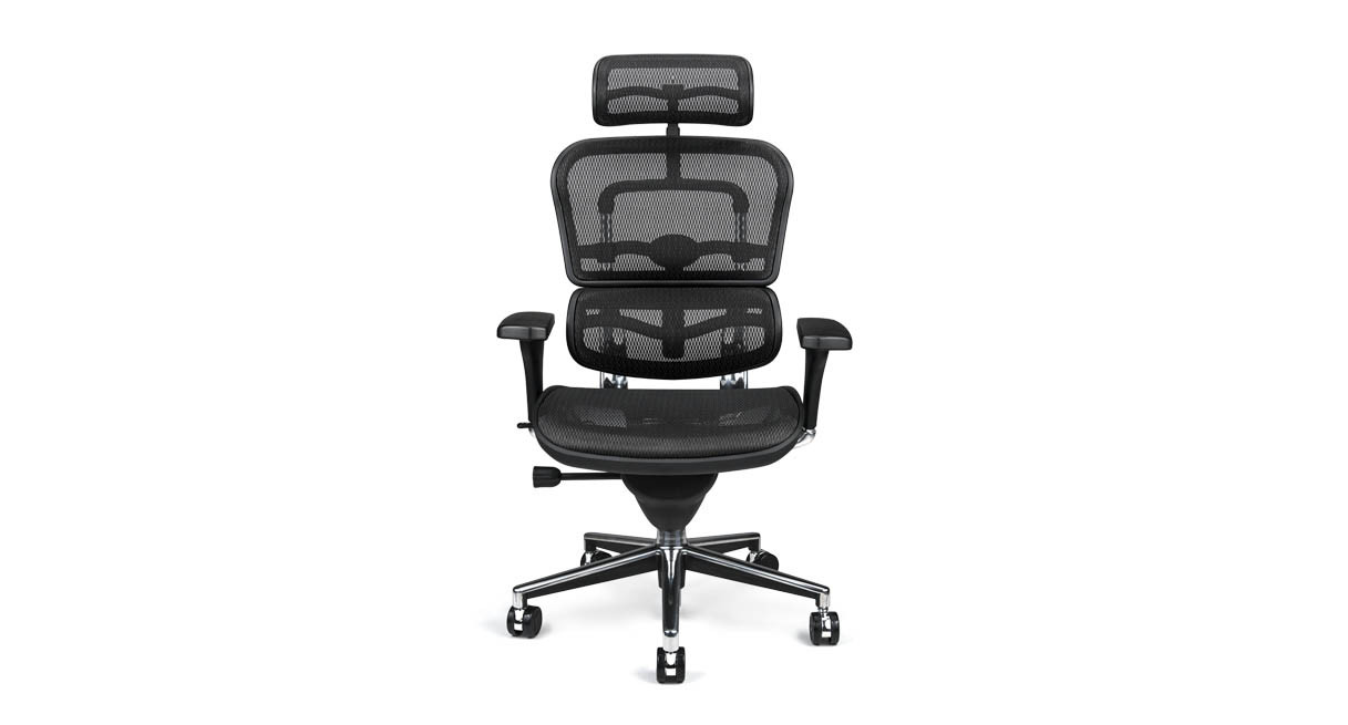raynor ergohuman chair me7erg mesh with headrest