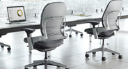 Natural seat glide moves forward as you lean back, promoting better spinal health