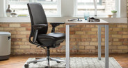 The Amia is a tough chair that provides ergonomic seating to users weighing up to 400 lbs