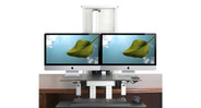 Optional add-ons include monitor mounts and desk mounting materials