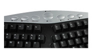 Touchpad includes a left and right mouse button and built-in wrist support