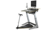 """Height and angle adjustment allow desk to support users ranging from 4'11"""" to 6'8"""""""