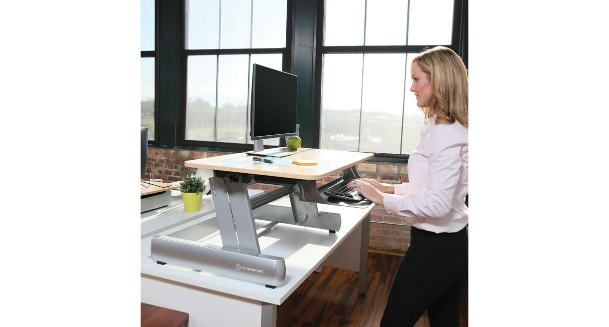 Life Fitness InMovement Elevate Desktop DT2 Standing Desks