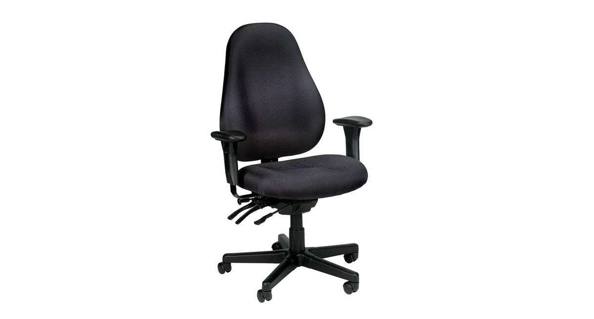 Eurotech Slider High Back Chair Slider 1701 W Sliding Seat