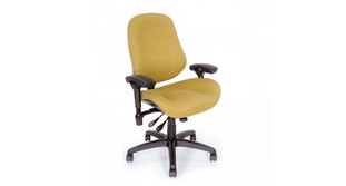 Greater than average base and seat accommodate users above the 80th percentile
