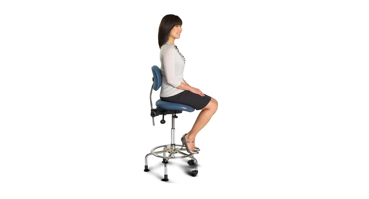 Pivots to encourage change in postures throughout the day  sc 1 st  The Human Solution & ergoCentric 3 in 1 Sit Stand Stool | Shop ergoCentric Chairs islam-shia.org
