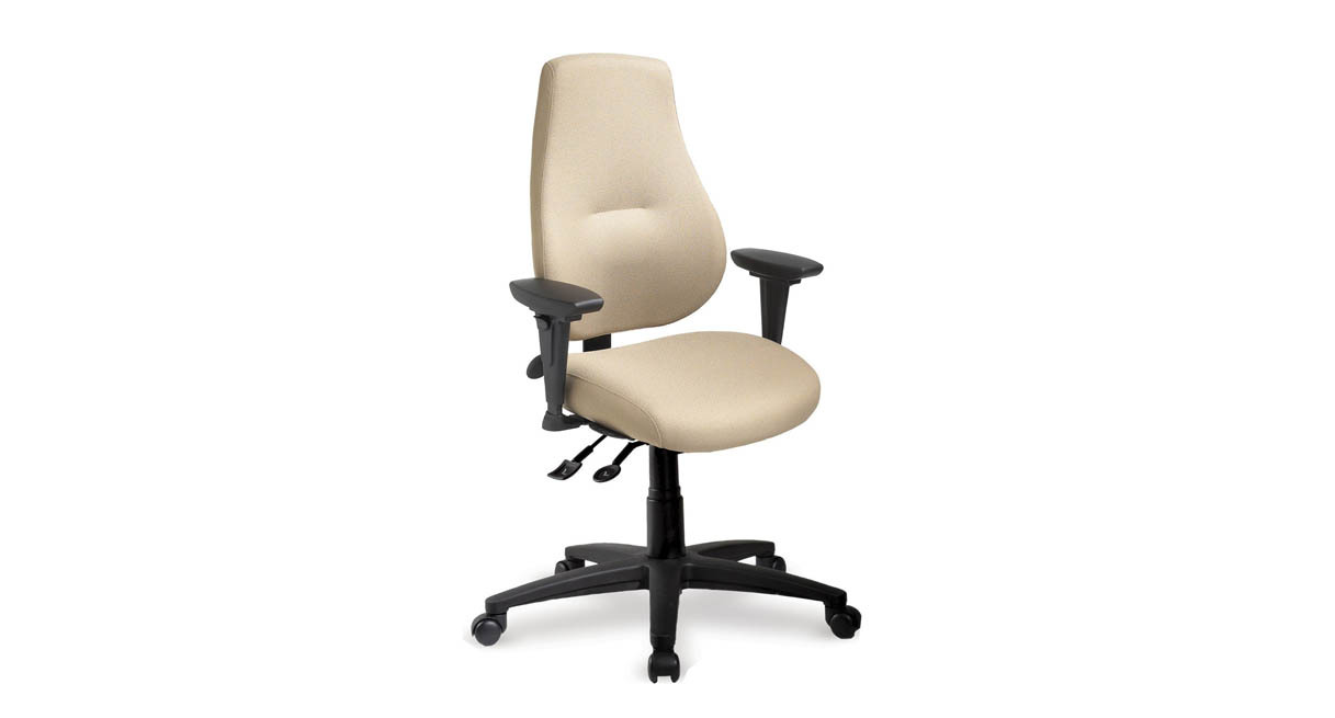 thick comfortable exceptional foam on seat and back - Ergonomic Desk Chair
