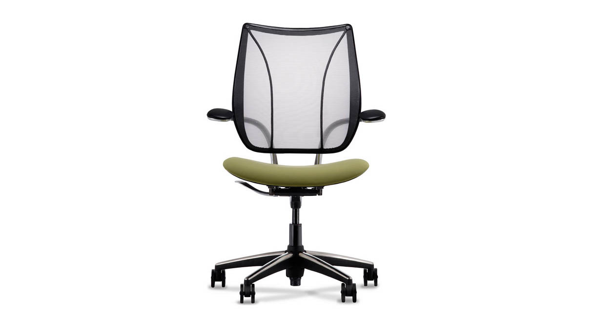 Self Adjusting Back Recline System On The Humanscale Liberty Chair Naturally Provides Right Amount